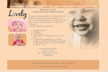 lovely american baby web site thumbnail