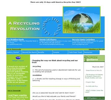 recycling revolution web site thumbnail